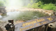 Hot spring video