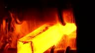 Hot steel video