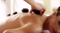 Hot stone therapy video