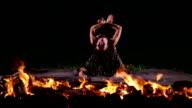 Hot woman dancer video
