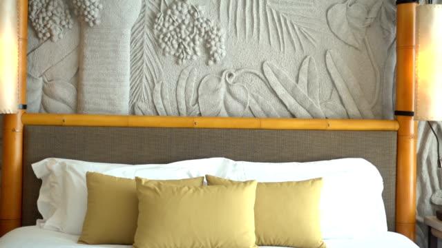 Hotel bedroom video