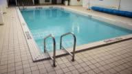 Hotel pool. video