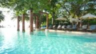 HD Hotel pool video