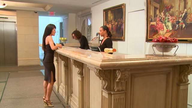 HD: Hotel Reception video