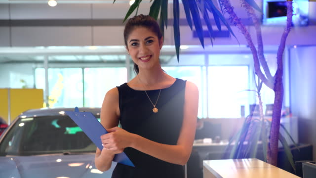 hotel/showroom receptionist video