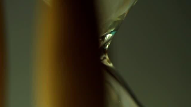 Hourglass - close up, 2 shots video