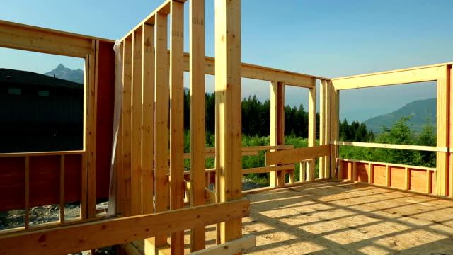 house construction site video