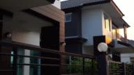 House, dolly shot 4k video