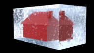 House in Ice - Frozen Asset video