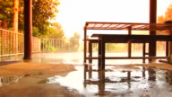 Household Furnishings Rain Day video