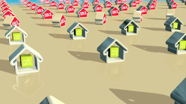 Houses Being Sold HD video