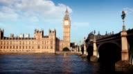 Houses Of Parliament and Big Ben, London video