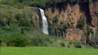 Howick Falls  - Aerial View - KwaZulu-Natal,  South Africa video