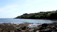Howth, Dublin Bay, Ireland Sea video