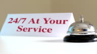 24 Hr Service Desk Bell video