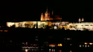 Hradcany by night, Prague video