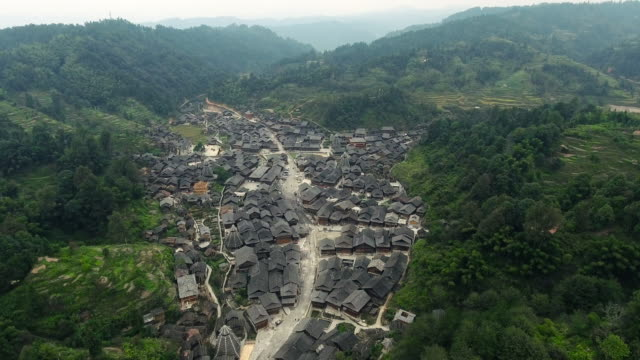Huanggang dong village in Guizhou China video
