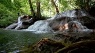 Huay Mae Khamin waterfall video