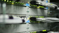 Hub Cable Network Close-up (Loopable) video