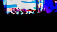 Huge Crowd Watching Concert video