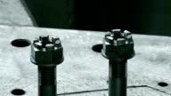 huge screw video