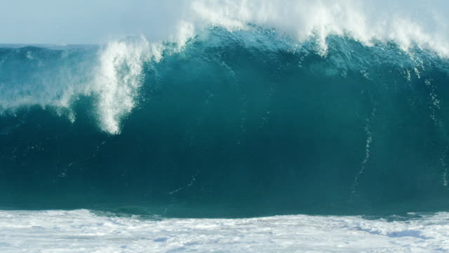 Huge Wave in Slow Motion video