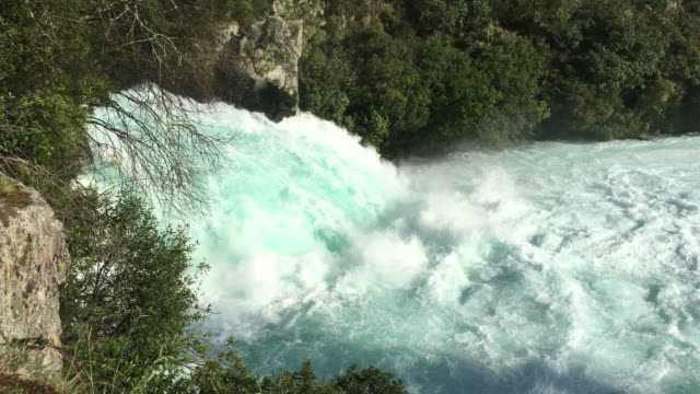 Huka Falls Taupo New Zealand video