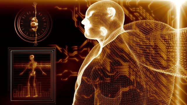 Human Body Scan video
