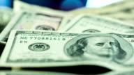 Hundred Dollar Bill Close Up video