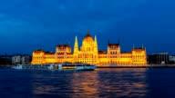 Hungarian Parliament, Budapest, Hungary video