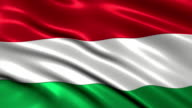 Hungary charming flag video