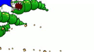Hungry Bug TRANSITION kit full screen GREEN wipe video