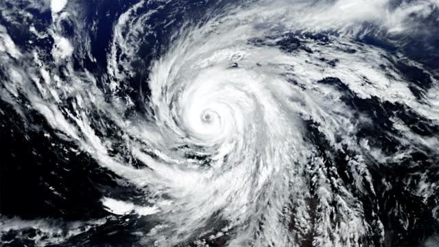 Hurricane. Alpha matte. video