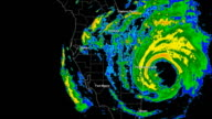 Hurricane Frances (2004) Landfall Time Lapse video