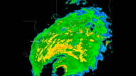 Hurricane Ivan (2004) Doppler Radar video