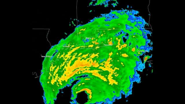 Hurricane Ivan (2004) Doppler Radar video