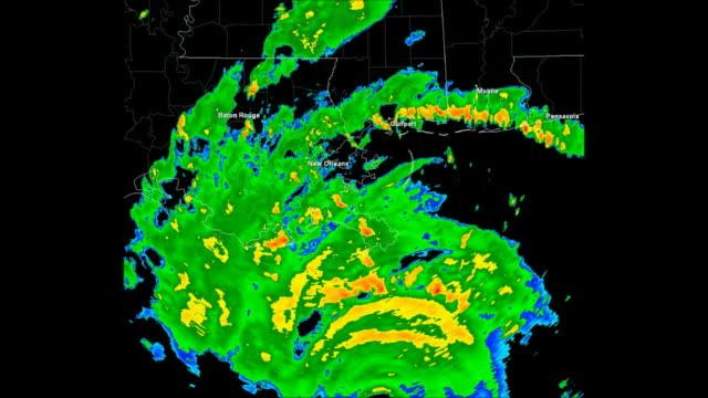 Hurricane Katrina Doppler Radar video