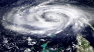 Hurricane Satellite View (HD) video