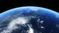 Hurricane seen from space video