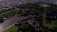 Hyde Park  - Aerial View - England, United Kingdom video
