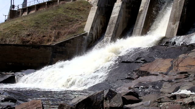 Hydroelectric Dam in Wisconsin video