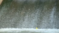 Hydroelectric dam, slow motion video