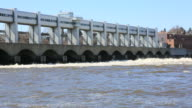 Hydroelectric Power Dam Station, Montreal, Quebec video