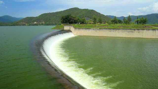 Hydroelectric Power Dam video