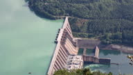 hydroelectric power plant on river video