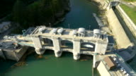 AERIAL Hydroelectric Power Station On Soca River video