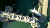 AERIAL Hydroelectric Power Station video