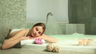 Hydrotherapy at spa video