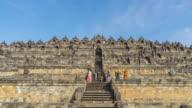 Hyperlapse - Borobudur Mahayana Buddhist Temple in Java Indonesia video