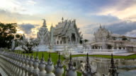 Hyperlapse of Wat Rong Khun, The White Temple,Thailand video